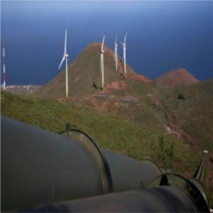 Il paradiso dell'ecosostenibilità: nelle Canarie centrale idro-eolica