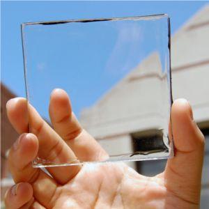 fotovoltaico adesivo e trasparente