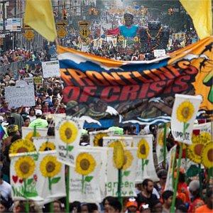 roma manifestazione clima 2014