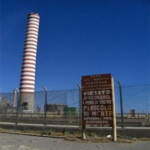 centrale elettrica inquinante