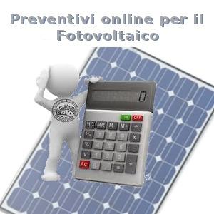 preventivi online fotovoltaico