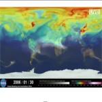 Emissioni di CO2, una mappa ne mostra l'andamento globale