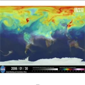 mappa nasa emissioni co2