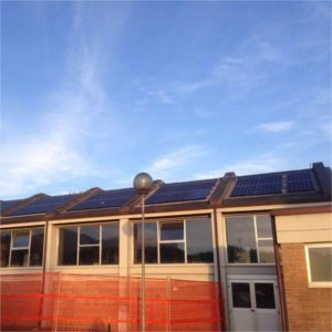 impianto fotovoltaico scula media sarteano
