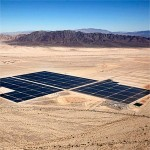 il Desert Sunlight Solar Farm illumina la California
