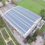Chiasso: l'impianto fotovoltaico pubblico più grande del Ticino