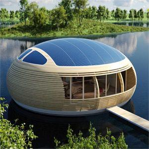 WaterNest-100 casa fotovoltaica galleggiante