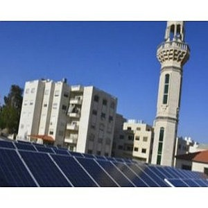 fotovoltaico su moschee in giordania