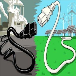 produzione elettrica pulita e inquinante