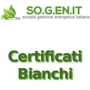 SO.G.EN.IT certificati bianci