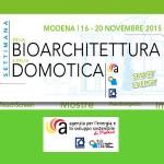 Modena: settimana della bioarchitettura e della domotica
