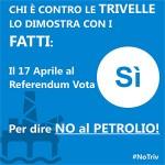 17 aprile,  Votiamo SI per dire NO alle Trivelle