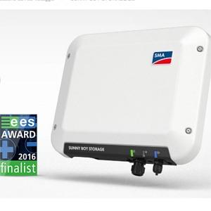 Accumulatore SMA Sunny Boy Storage 2.5 premiato a Monaco