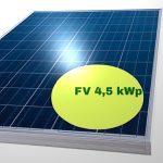 Il Costo di un Impianto Fotovoltaico da 4 5 kW