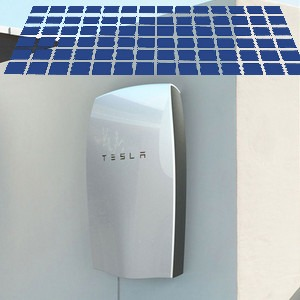 Kit fotovoltaico più accumulo con batteria Tesla Power Wall