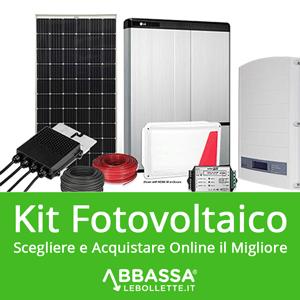 Kit Fotovoltaico: scegliere e acquistare Online il migliore